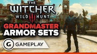 Check Out The Grandmaster Armor Sets in The Witcher 3 Blood and Wine