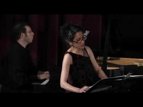 Melinda Wagner's Four Settings for soprano and ensemble
