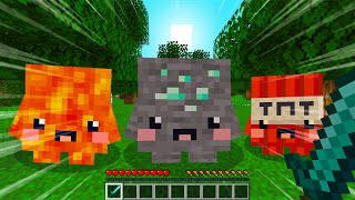 Minecraft, BUT EVERY BLOCK IS A PET..