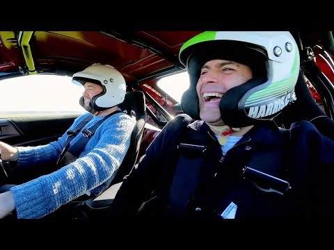 Chris Harris and Jason Manford Lap   Top Gear: Series 25