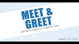 2021 Meet & Greet Session