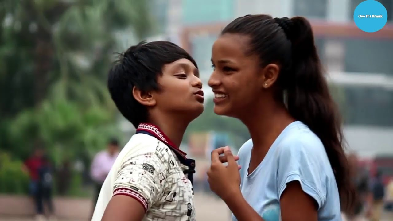 Indian Kissing Prank Small Boy - Youtube-3921