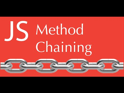 javaScript Method chaining tutorial ( function chaining)