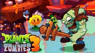 Plants vs Zombies 3 Beta (2021) All Levels Full Gameplay Walkthough Levels1-50 Final Boss Gargantuar
