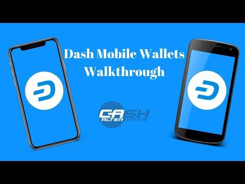 Dash Mobile Wallets Walkthrough!
