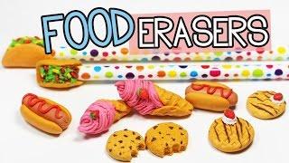 DIY Erasers - Make Your Own Food Erasers! Creatibles DIY Eraser Kit