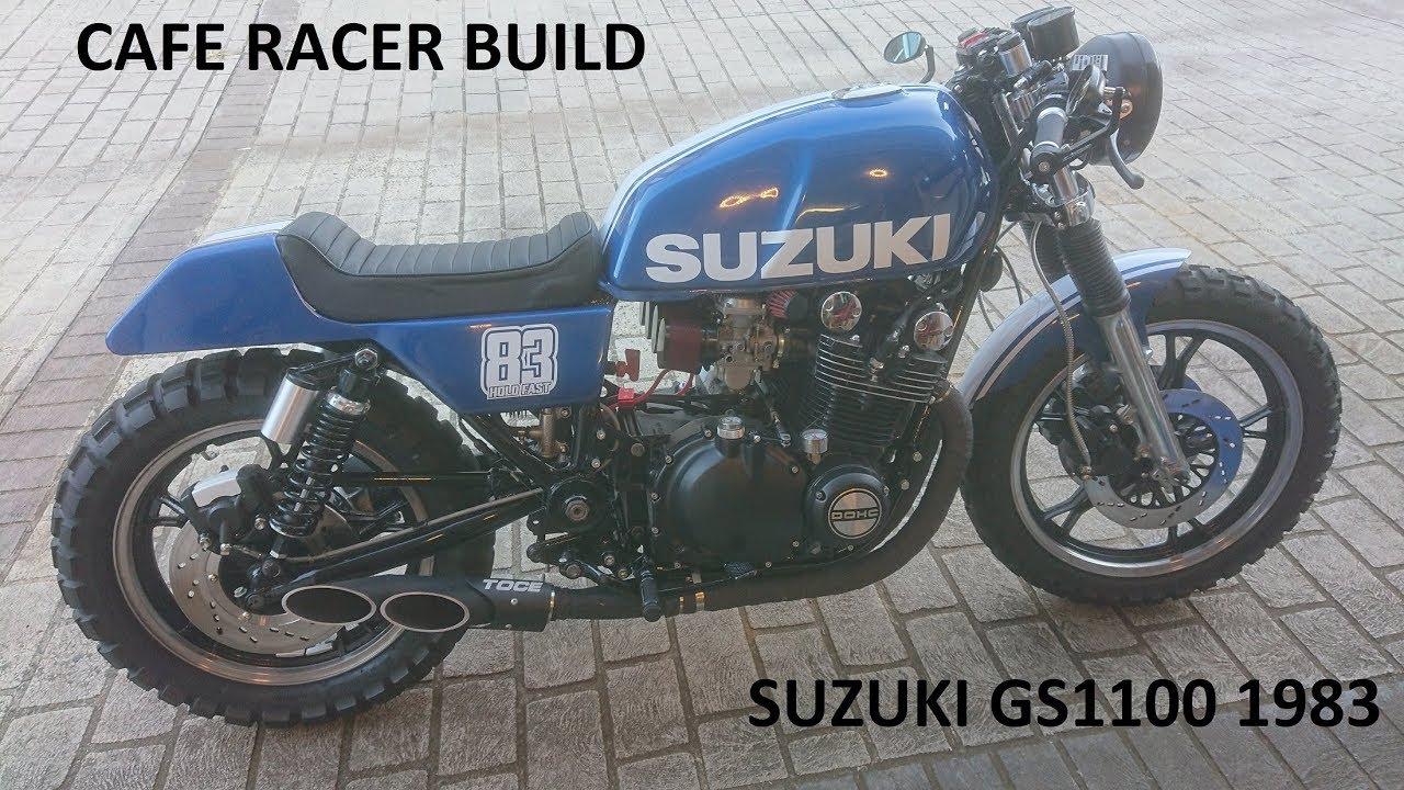 SUZUKI GS1100 Cafe Racer Build