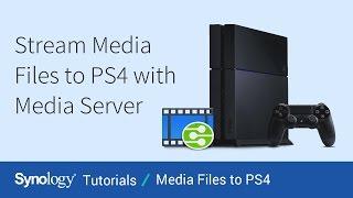 Трансляція мультимедійних файлів на PS4 з медіа-сервера | сервер Synology