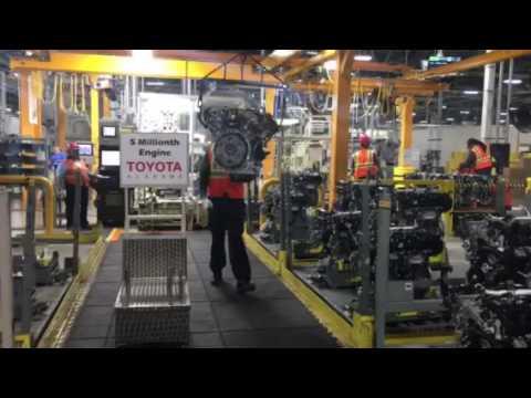 5 millionth engine at Toyota Alabama