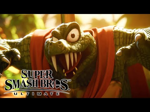 Super Smash Bros. Ultimate - King K. Rool Reveal Trailer