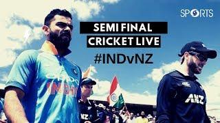 ICC #CWC19 | India vs New Zealand - Semi Final | Cricket LIVE