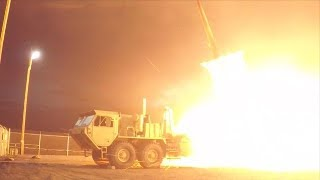 US military tests THAAD missile system