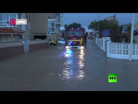 فيضانات عارمة تضرب شرق إسبانيا  - نشر قبل 4 ساعة