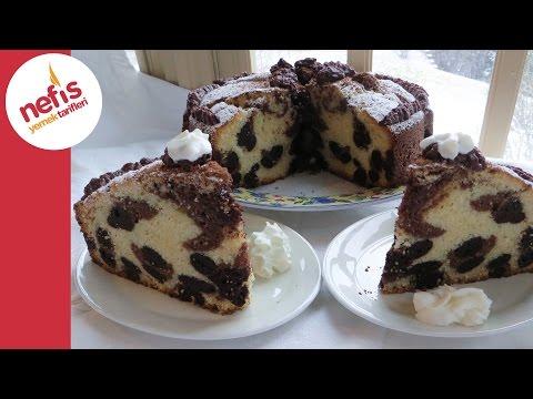 Leopar Desenli Kek Tarifi - Kek Nasıl Yapılır? - Nefis Yemek Tarifleri