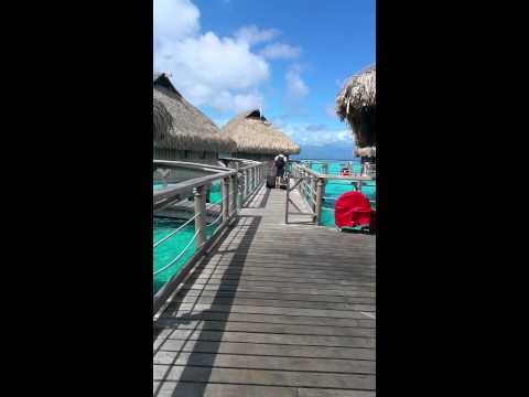 Our Overwater Bungalow At The Sofitel Moorea