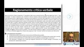 QUIZ DI LOGICA E TEST PSICOATTITUDINALI - Ragionamento Critico Verbale