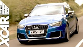 2016 audi rs 3 forget hot hatches this is hyper hatch xcar