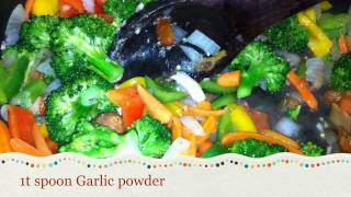 Garden Pasta/ Vegetable Spaghetti/stir-fry Vegetable Pasta Recipe [hd]