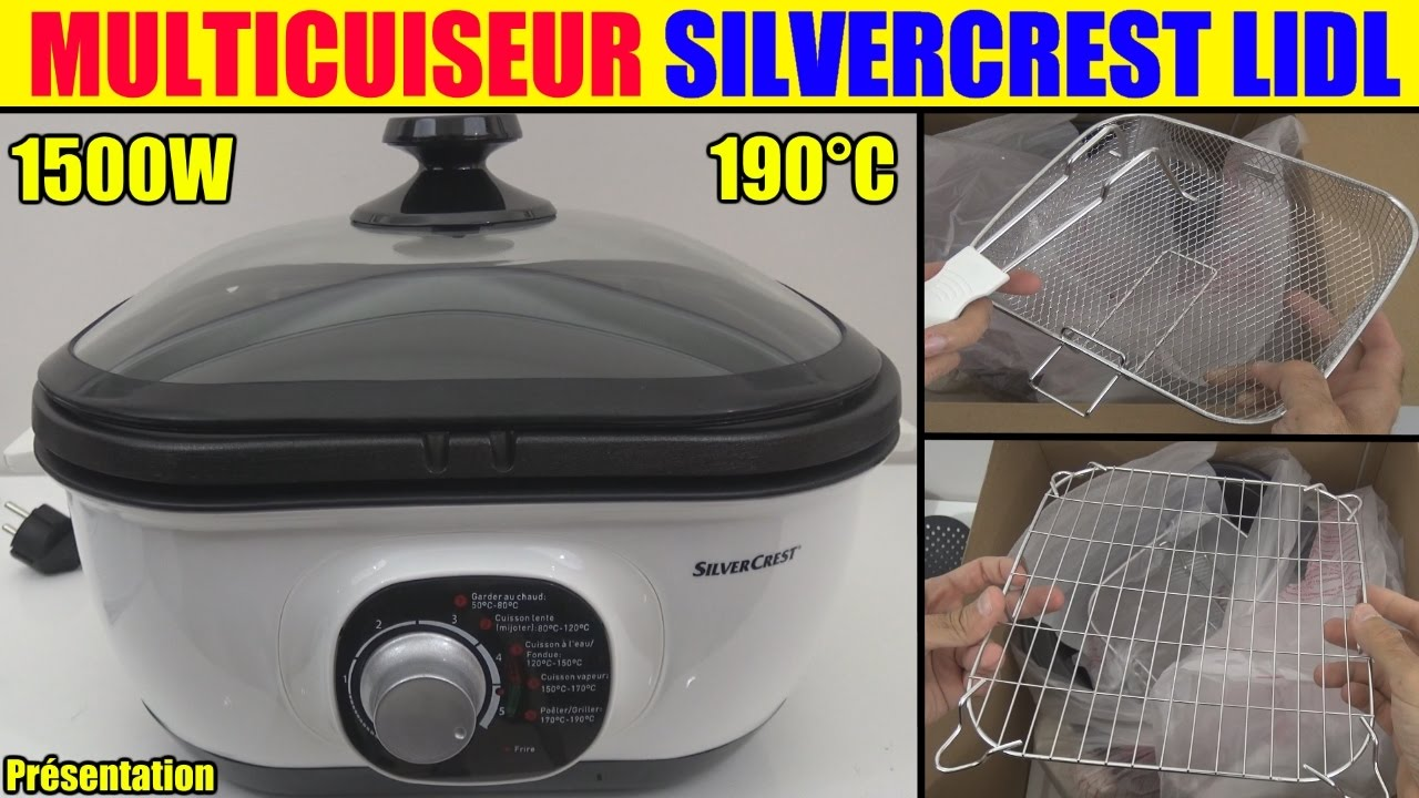multicuiseur lidl silvercrest smuk 1500 multi cooker multikocher