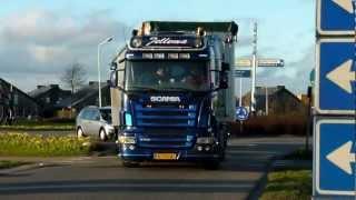 Jellema Transport - Scania V8