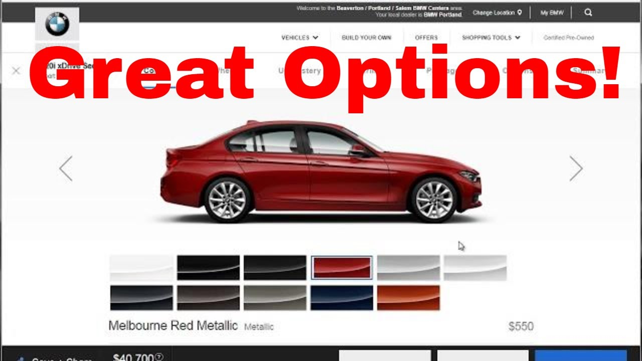 Bmw Build And Price >> 2018 Bmw 320i Xdrive Build Your Own Specs Features Price Options