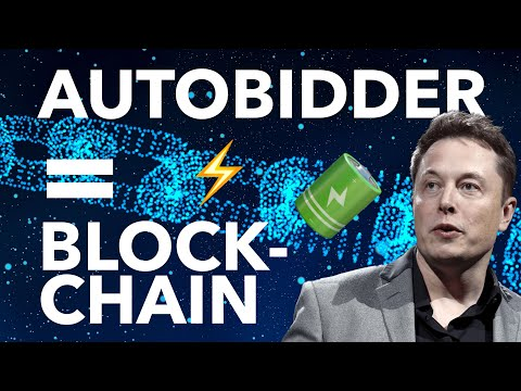 Tesla's Blockchain Technology Will HUGE for TSLA's Energy Business | Autobidder is the Future!