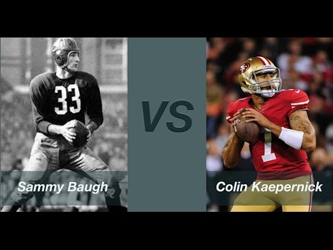 QB 99 Sammy Baugh and 98 Colin Kaepernick review - Madden Ultimate Team 15