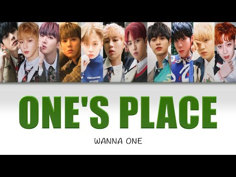 Free Download 【日本語訳/カナルビ】wanna One -  One's Place Mp3 dan Mp4