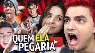 QUEM ELA PEGARIA NO YOUTUBE? (quero morrer) [+13] thumbnail