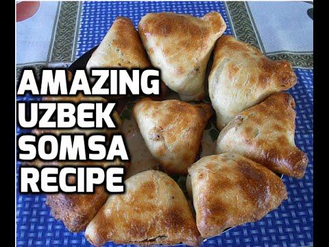 Best Uzbek Somsa (Samosa) Video Recipe in the oven