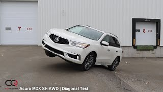 SH-AWD Diagonal TEST: Acura MDX | Can it climb?