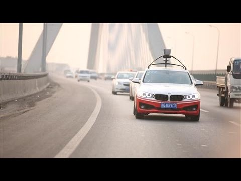 Baidu Tests Driverless Car on the Road
