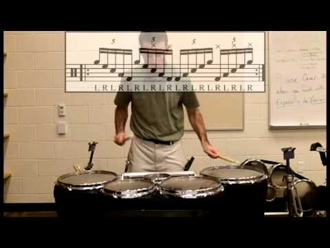 Tenor Drum Exercises from Hell #9