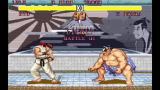 Street Fighter 2 sur DOS
