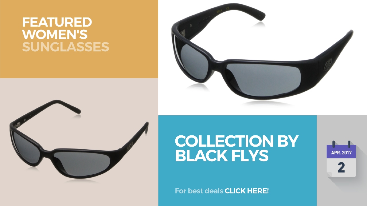 b2cbb056a5e Collection By Black Flys Featured Women s Sunglasses - YouTube