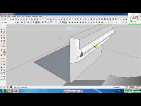 Hướng dẫn tự học SketchUp từ cơ bản đến nâng cao phần 1