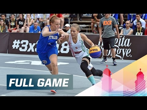 Hungary v Italy - Women's Quarter-Final Full Game - 2015 FIBA 3x3 U18 World Championships