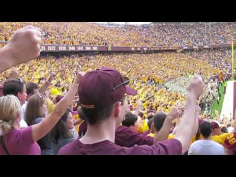 TCF Bank Stadium | First Game Ever | Minnesota Gophers vs. Air Force | Football