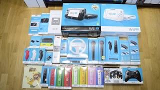 Wii U accessory/peripheral collection
