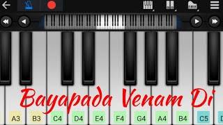 Kannukulla Nikkira en kadhaliye | Love BGM | Easy Piano Tutorial
