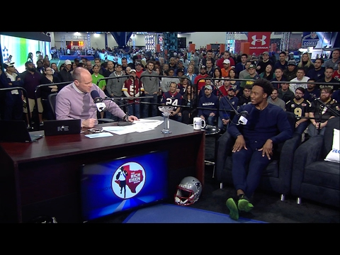 New York Jets WR Brandon Marshall on Jets Season, SB51 & More - 2/3/17