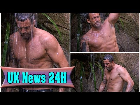 I'm a celebrity's jamie lomas shows off his ripped body in jungle shower| UK News 24H