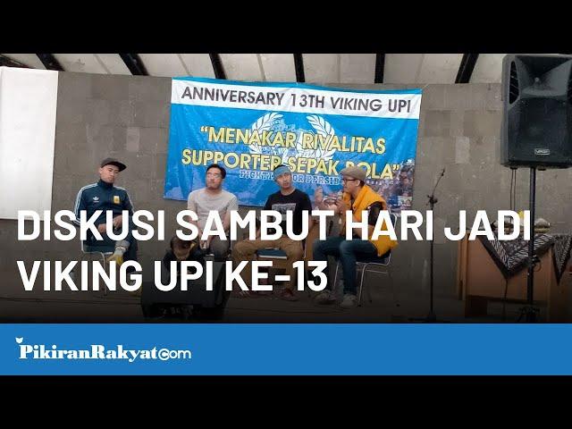 Acara Diskusi Sambut Hari Jadi Viking UPI ke-13