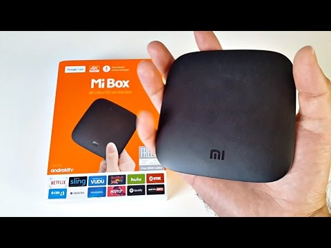 Xiaomi Mi Box Android TV Box / 4K Ultra HD / Official Android TV OS