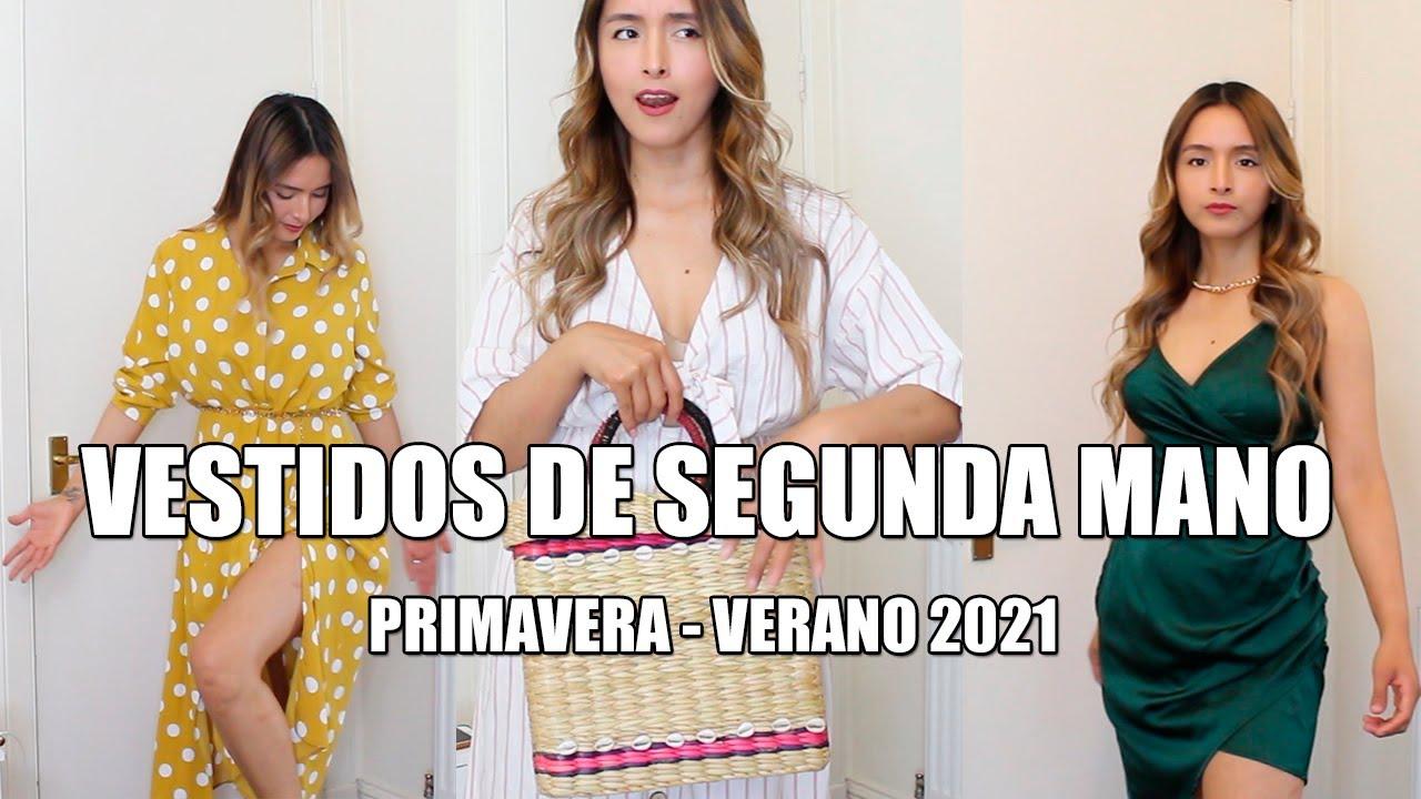 HAUL ROPA USADA vestidos de segunda mano outfits spring summer  2021 | @Gabriela Labanda