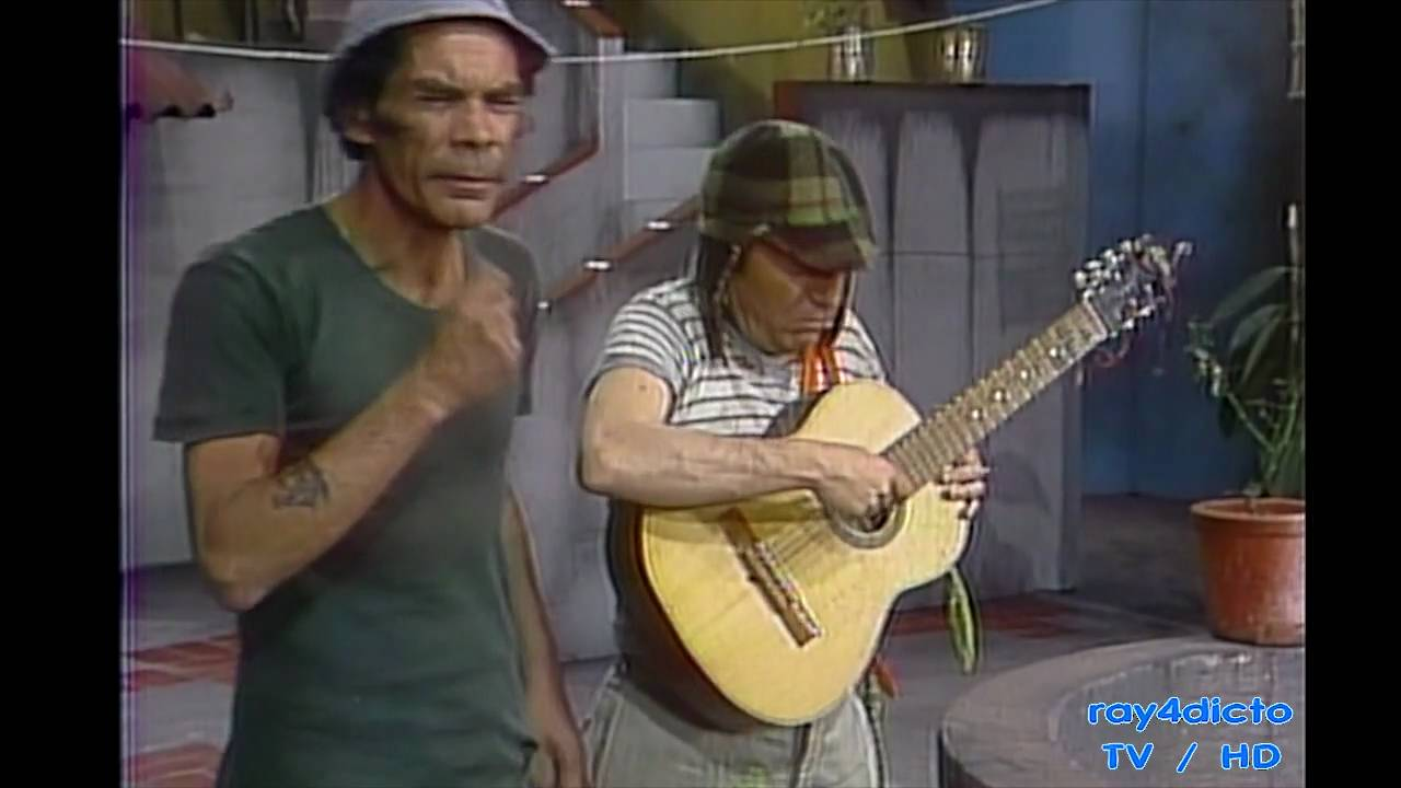 EL CHAVO DEL 8 ( Clases de Guitarra 1975 ) / HD