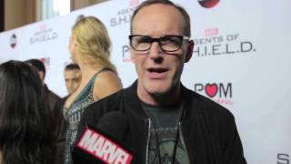 Clark Gregg – Marvel's Agents of S.H.I.E.L.D. on the Red Carpet
