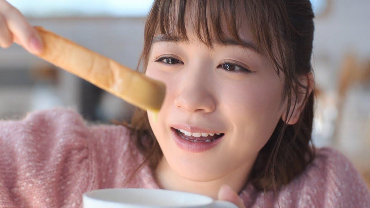 永野芽郁 とろとろスープに顔がにやけまくり Cmソングも披露