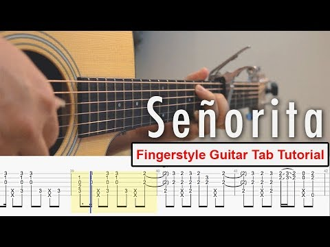 Señorita – learn how to play acoustic guitar chords online lessons