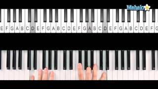 how to play an a7 chord on piano